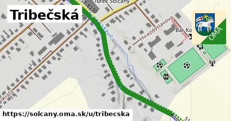 ilustrácia k Tribečská, Solčany - 542m