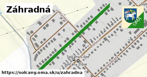ilustrácia k Záhradná, Solčany - 496m