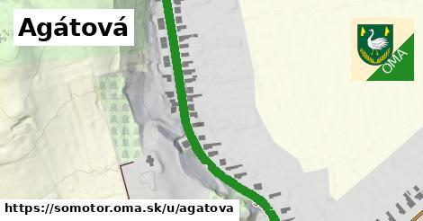 ilustrácia k Agátová, Somotor - 2,1km
