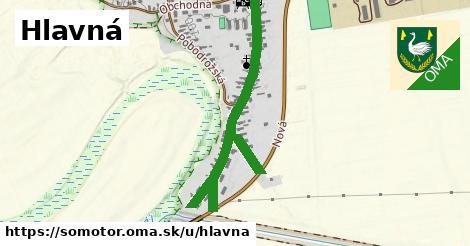 ilustrácia k Hlavná, Somotor - 0,88km
