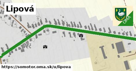 ilustrácia k Lipová, Somotor - 605m