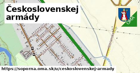 ilustrácia k Československej armády, Šoporňa - 1,04km