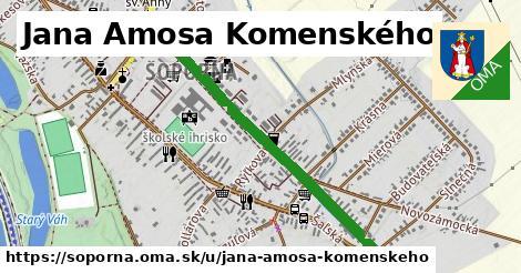 ilustrácia k Jana Amosa Komenského, Šoporňa - 0,95km