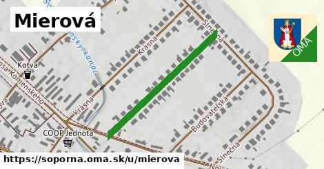 ilustračný obrázok k Mierová, Šoporňa