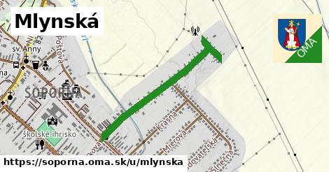 ilustrácia k Mlynská, Šoporňa - 0,77km