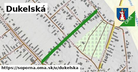 Dukelská, Šoporňa