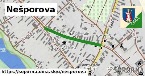 ilustrácia k Nešporova, Šoporňa - 307m