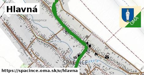 ilustrácia k Hlavná, Špačince - 0,77km