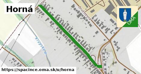 ilustrácia k Horná, Špačince - 469m
