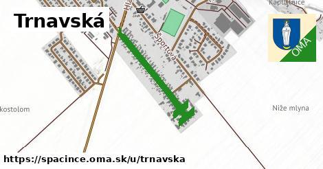 ilustrácia k Trnavská, Špačince - 500m