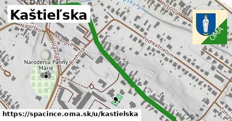 ilustrácia k Kaštieľska, Špačince - 606m