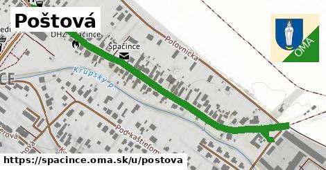 ilustrácia k Poštová, Špačince - 0,72km
