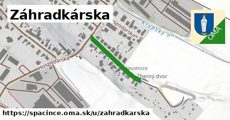 ilustrácia k Záhradkárska, Špačince - 214m