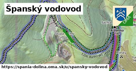 ilustrácia k Španský vodovod, Špania Dolina - 91m