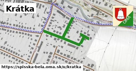 ilustrácia k Krátka, Spišská Belá - 440m