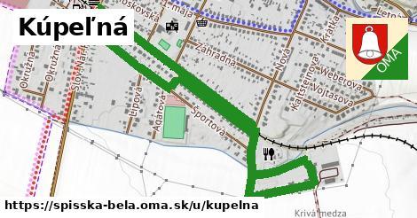 ilustrácia k Kúpeľná, Spišská Belá - 2,2km