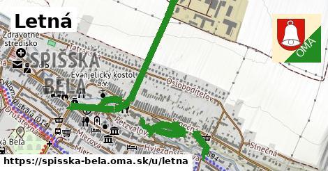 ilustrácia k Letná, Spišská Belá - 1,27km