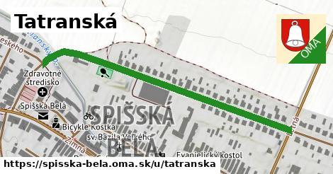ilustrácia k Tatranská, Spišská Belá - 551m