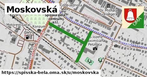 ilustrácia k Moskovská, Spišská Belá - 380m