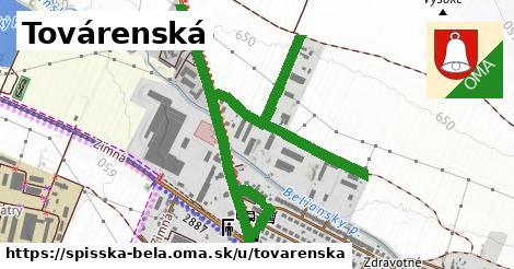 ilustrácia k Továrenská, Spišská Belá - 0,96km