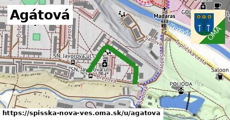 ilustrácia k Agátová, Spišská Nová Ves - 271m