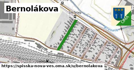 ilustrácia k Bernolákova, Spišská Nová Ves - 189m