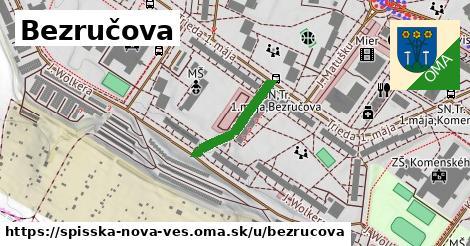ilustrácia k Bezručova, Spišská Nová Ves - 175m