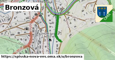 ilustrácia k Bronzová, Spišská Nová Ves - 257m