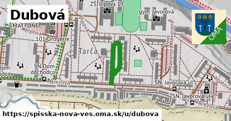 ilustrácia k Dubová, Spišská Nová Ves - 266m