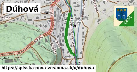ilustrácia k Dúhová, Spišská Nová Ves - 246m