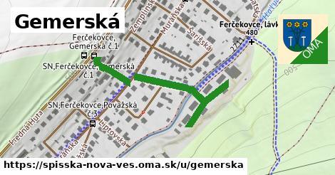 ilustrácia k Gemerská, Spišská Nová Ves - 391m
