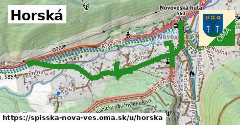 ilustračný obrázok k Horská, Spišská Nová Ves