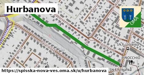 ilustračný obrázok k Hurbanova, Spišská Nová Ves