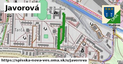 ilustrácia k Javorová, Spišská Nová Ves - 296m