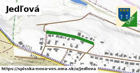 ilustrácia k Jedľová, Spišská Nová Ves - 267m
