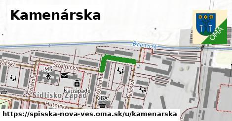 ilustrácia k Kamenárska, Spišská Nová Ves - 147m