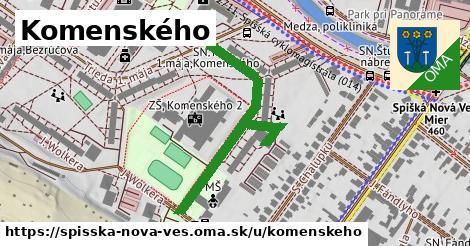ilustrácia k Komenského, Spišská Nová Ves - 441m