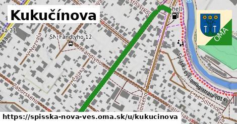 ilustrácia k Kukučínova, Spišská Nová Ves - 495m