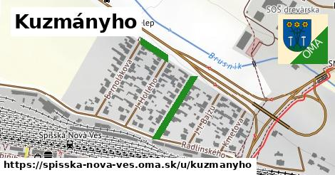ilustrácia k Kuzmányho, Spišská Nová Ves - 309m