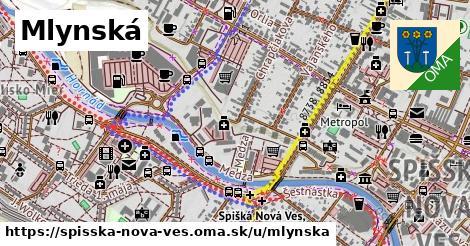 ilustrácia k Mlynská, Spišská Nová Ves - 1,46km