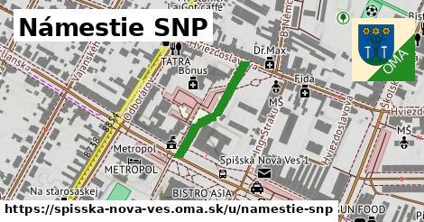 ilustrácia k Námestie SNP, Spišská Nová Ves - 208m