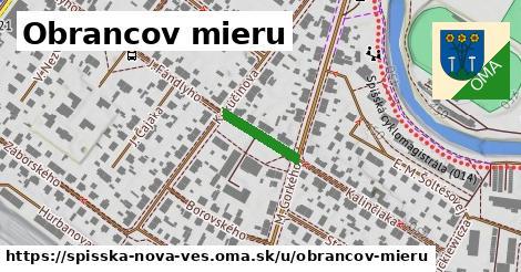ilustrácia k Obrancov mieru, Spišská Nová Ves - 126m