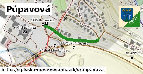 ilustrácia k Púpavová, Spišská Nová Ves - 299m