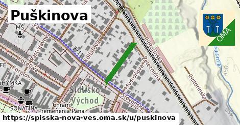 ilustrácia k Puškinova, Spišská Nová Ves - 148m