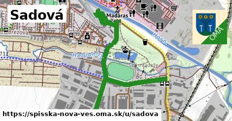 ilustrácia k Sadová, Spišská Nová Ves - 1,04km