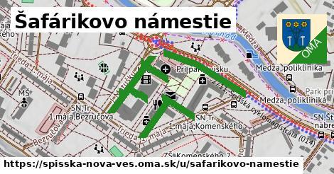 ilustrácia k Šafárikovo námestie, Spišská Nová Ves - 677m