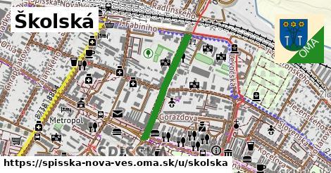 ilustrácia k Školská, Spišská Nová Ves - 492m