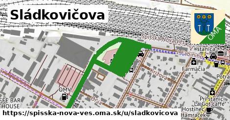 ilustrácia k Sládkovičova, Spišská Nová Ves - 1,04km