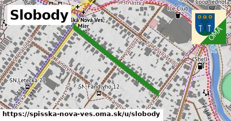 ilustrácia k Slobody, Spišská Nová Ves - 346m