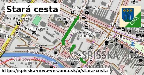 ilustrácia k Stará cesta, Spišská Nová Ves - 312m